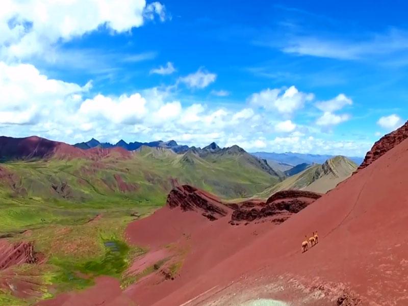valle rojo pitumarca