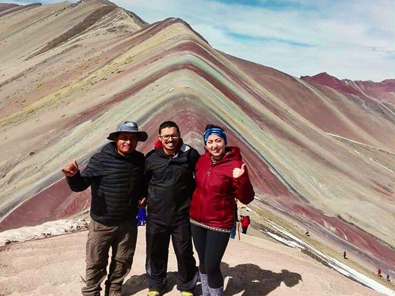 como llegar a la montaña de colores