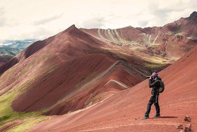 montana de colores valle rojo