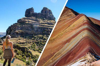 tour waqrapukara montaña de colores
